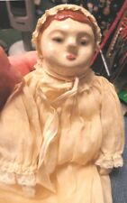 Vintage 9' Very Unusual China Head Doll. A Must See!