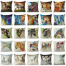 Cartoon Animal throw pillow case horse cushion cover for sofa bedroom Home Decor