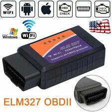Wifi Obd2 Obdii Car Diagnostic Scanner Elm327 Code Reader Tool For Iosamp Android