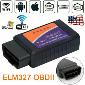 WiFi OBD2 OBDII Car Diagnostic Scanner ELM327 Code Reader Tool for IOS& Android