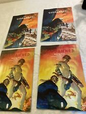 4 Image Comic Books The Goddamned two # 1 + Two # 3 N 292