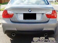 BMW 05-11 E90 M-Tech Rear Bumper Diffuser Carbon Fiber 323i 325i 328i 330i 335i