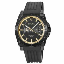 Bulova 98B294 Men's Precisionist collection Black Quartz Watch
