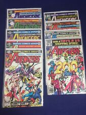 Avengers 200,201,202,203,204,205,206,208,210 Higher Grade Marvel 9 Issue Lot
