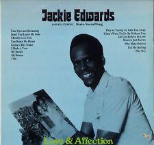 """JACKIE EDWARDS """"LOVE & AFFECTION"""" JAMAICAN SOUL LP ABRAHAM 20"""