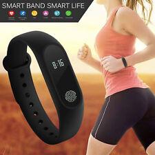 NEU Smart Armband Watch Bluetooth Fitness Tracker Pulsuhr Schrittzähler Anruf DE
