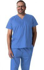 Unisex 2 Piece Scrubs Set Top and Bottom Medical uniform v-neck scrub Xlarge Xl