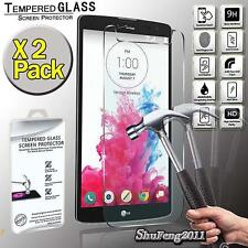 2 Pack Tempered Glass Screen Protector Cover For LG G Vista