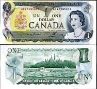 CANADA 1 DOLLARS 1973 P 85 b LAWSON UNC