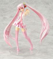 "VOCALOID Hatsune Sakura Miku Pink Cherry Blossom Outfit PVC Action Figure 6.5"""
