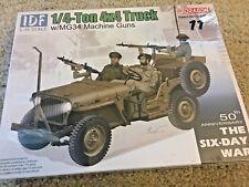 1/35 IDF 1/4 Ton 4x4 Truck w/ MG34 machine guns ~ Six Day War ~ Dragon DML #3609