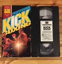 Professional Kickboxing (VHS, 1988) Hosted By Dale Apollo Cook