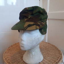 BRITISH DPM OLD STYLE WOODLAND PATTERN CRAP HAT - SIZE 6 1/2  - NEW