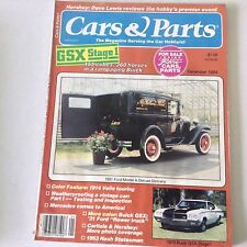 Cars & Parts Magazine GSX Stage 1 Ford Model A Deluxe December 1984 052817nonrh