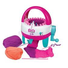 Kids/Girl DIY Scarf Hat Socks Knitting Machine Weaver Knitter Toy Xmas Gift