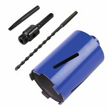 Diamond Core Drill 117 X 150mm With Hex Arbor & Pilot Drill Brick Hole Cutter