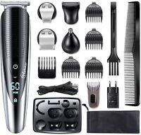 Hatteker Barbero Electrico Cortapelos Profesional Hombre Recargable Precisión