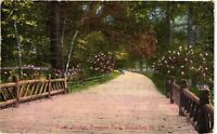 Vintage Postcard - 1913 Rustic Bridge Prospect Park Brooklyn New York NY #4147