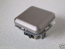 KOPP Wechselschalter AMBIENTE platin-silber UP Unterputz Schalter Wechsel Aus