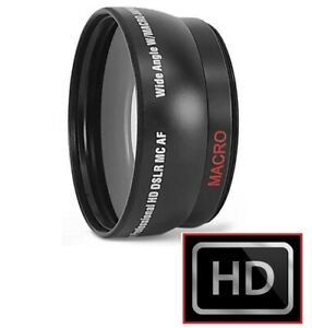 Hi Def Wide Angle With Macro Lens For Samsung NX1 EV-NX1
