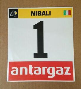 2015 Tour de France Race Issued Number Team Astana - Vincenzo NIBALI