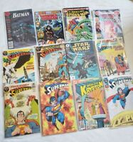 Batman Superman Wonder Woman Star Wars Avengers DC Comics Huge Lot