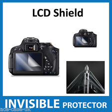Canon Eos 700d, T5i Rebel, Kiss x7i Dslr Invisible Protector De Pantalla Lcd Shield