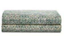 New Ralph Lauren Home  Notting Hill Eaton Green QUEEN Flat Sheet 200TC Cotton