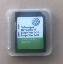 VW SEAT SKODA RNS 310 Amundsen dernière V10 2018 Navigation FX Carte SD West Europe