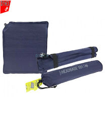 Blue Self Inflating Blow Up Camping Pillow/Cushion Travel Accessories