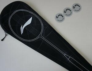 Li Ning  Neoprene Soft Badminton Racquet Racket Bag Cover, Black