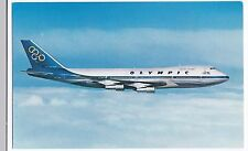 Olympic Airways Boeing 747-200 B Jumbo Jet  PPC Unposted