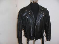 vintage HEROS by HELD Motorradjacke Leder Bikerjacke 80s oldschool 52 M/L
