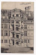 blois , le château , escalier françois 1er ---