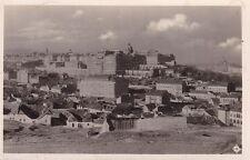 uralte Photo-AK, Budapest, Panorama von Ofen, Vorstadt Tabán, 1932