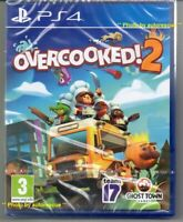 Overcooked! 2  'New & Sealed'  *PS4(Four)*