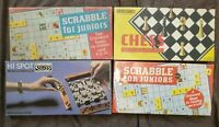 Job Lot Vintage Games Spears Chess Scrabble For Juniors Hi Spot VGC FREE P&P