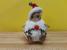 Charming Tails Signed Dean Griff Mackenzie In A Christmas Snow Ball Ex Condition