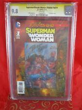 DC Comics Superman/Wonder Woman FUTURES END #1 CGC SS 9.8 Signed Bart Sears 3-D