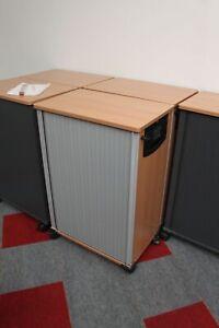 Werndl - Caddy / Rollcontainer - Buche / Lichtgrau - K923