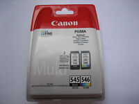 Original Multipack Black Color Canon PG-545 +CL-546 MG-3050 MG-3052 Invoice +