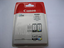 Original Multipack COLOR NEGRO CANON pg-545+cl-546 mg-3050 mg-3052 RECH +IVA