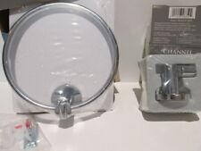2 pc Set Gatco Robe Hook & Towel Ring Polished Chrome Bathroom 2 Piece Channel