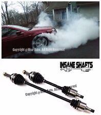 Insane Shafts Axles 500HP For 98-02 Honda Accord V6 3.0L 99-03 Acura TL V6 3.2L