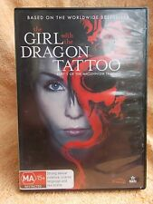 THE GIRL WITH THE DRAGON TATTOOS MICHAEL NYQVIST,NOOMI RAPACE, DVD MA R4