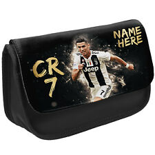 Ronaldo Pencil Case CR 7 School Stationary Juve Football Bag Personalised CR02