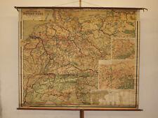 Murs Carte économique client Deutsches Reich Vintage Wall Map 204x170cm ~ 1919