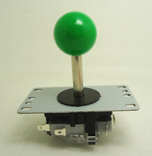 8 way type NO microswitch arcade game joystick with GREEN for game machine