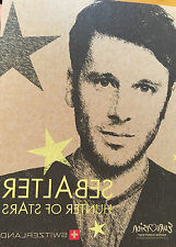 CD PROMO EUROVISION SUIZA SWITZERLAND 2014 SEBALTER HUNTER OF STARS
