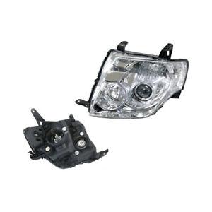 Headlight Left for Mitsubishi Pajero Exceed/VRS NS/NT 11/2006-11/2010 Halogen